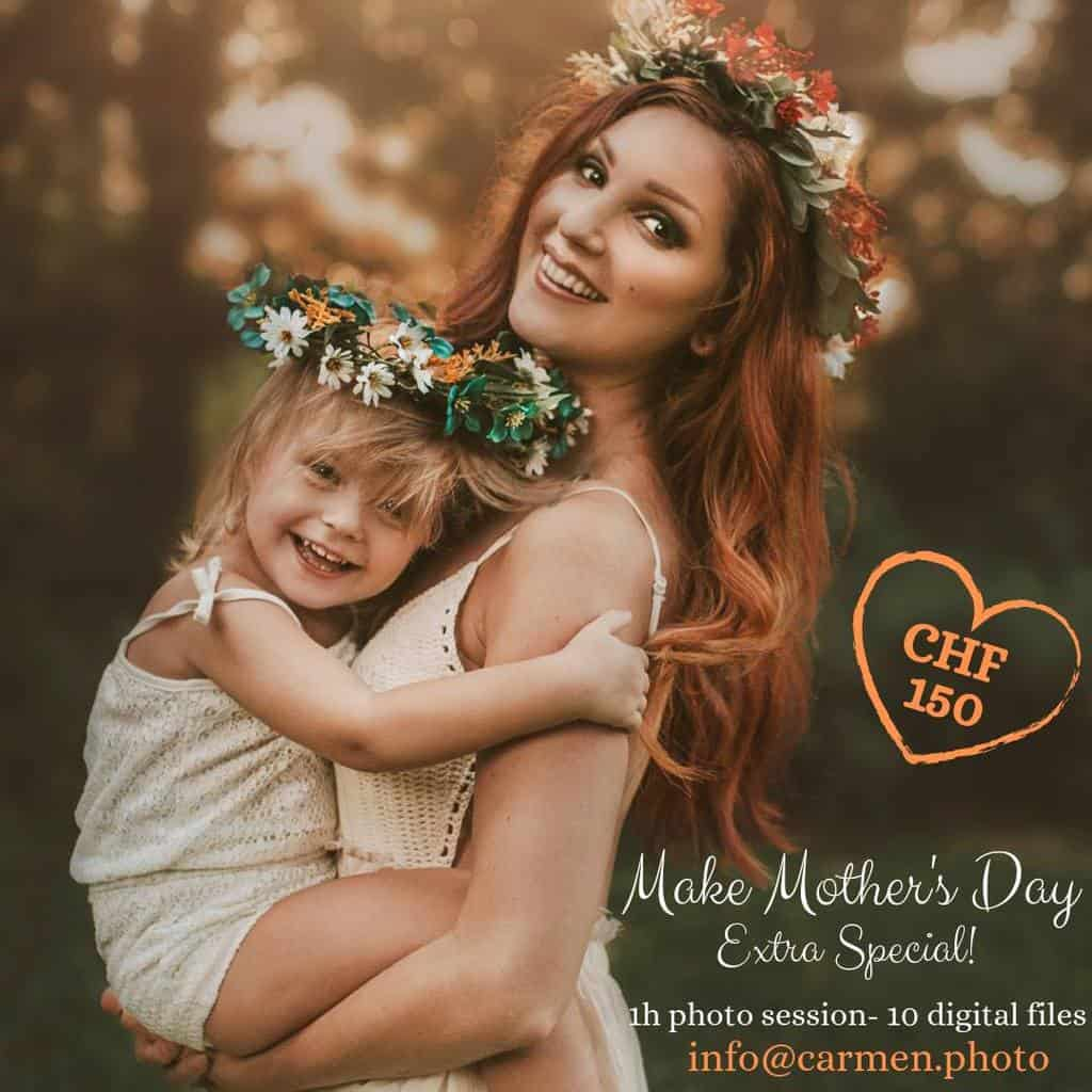 Mother's Day Photo Shoot Zurich