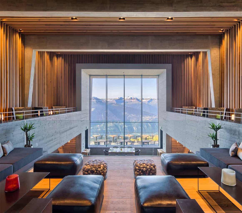 The Stunning Hotel Chetzeron Crans Montana