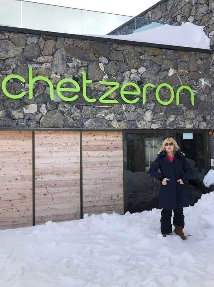 Winter at Hotel Chetzeron Crans Montana