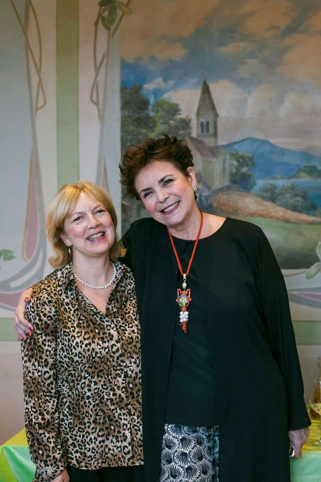 Cristina Rocco at Italian Allegriaat Villa Erlengut Erlenbach