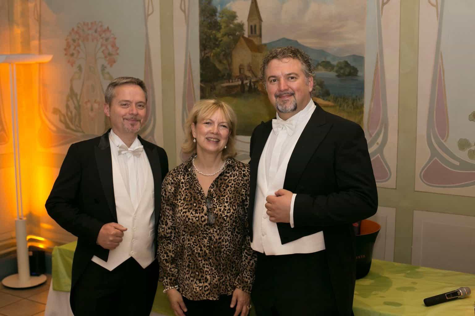 Opera singers at Italian Allegriaat Villa Erlengut Erlenbach