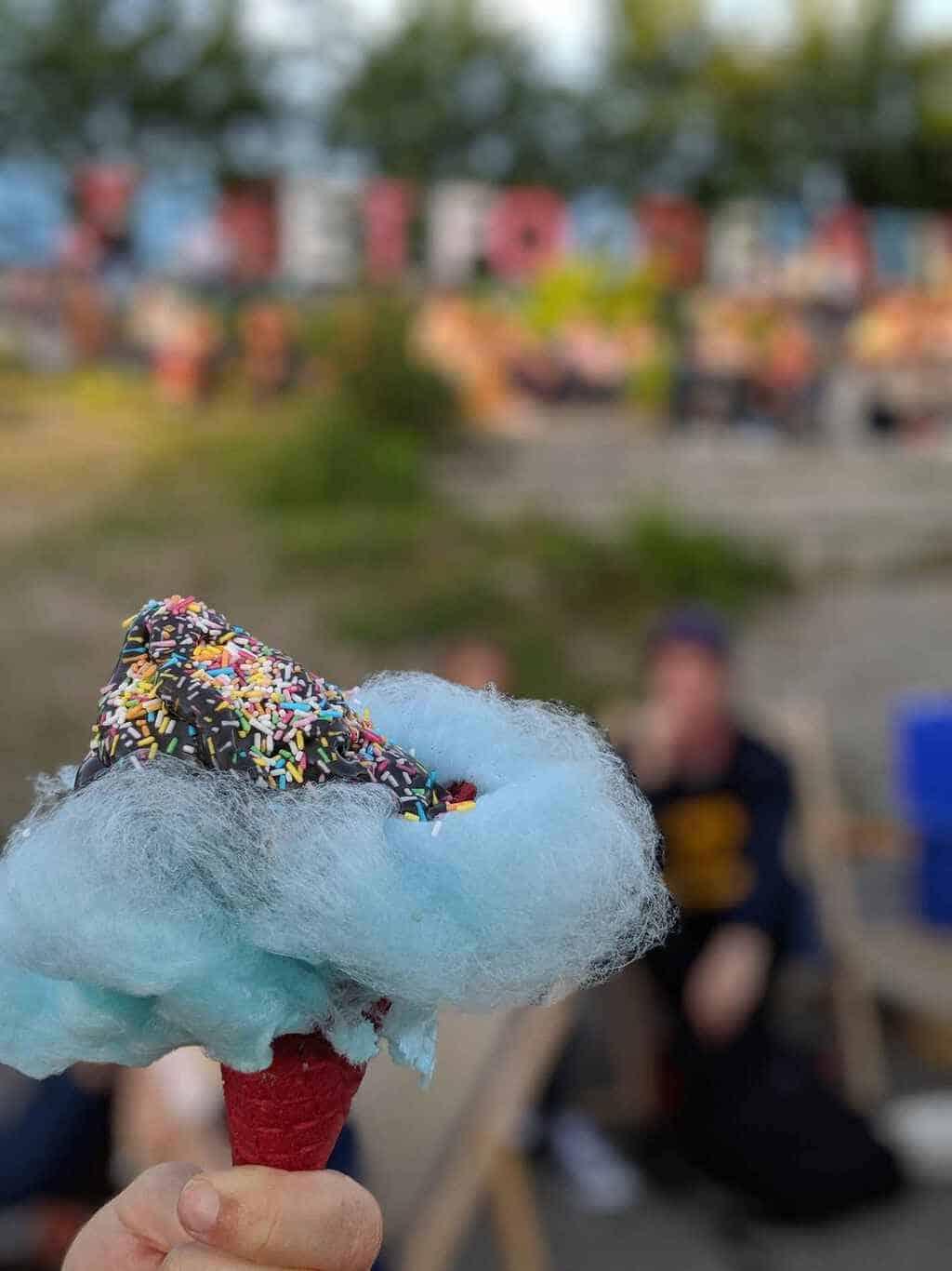 Taucherli Ice cream at Zurich Street Food Festival