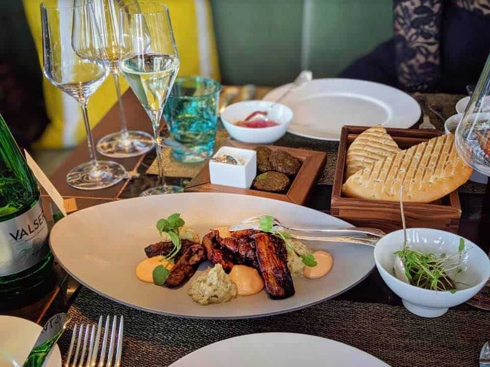 FOOD Zurich - Dine Under the Stars at the Atlantis By Giardino
