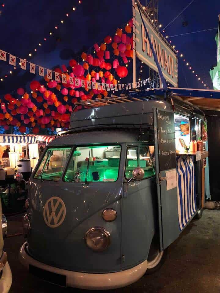 Zurich Street Food Festival Hardturmstrasse Zurich Switzerland