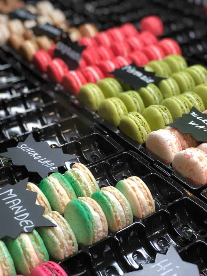 Macarons at Zurich Street Food Festival Switzerland