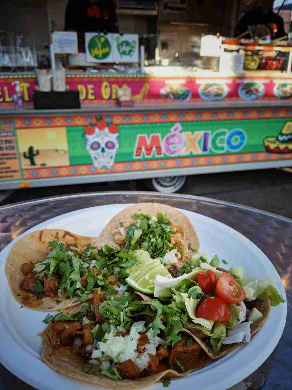 Tacos and Mexican cuisine at Zurich Street Food festival