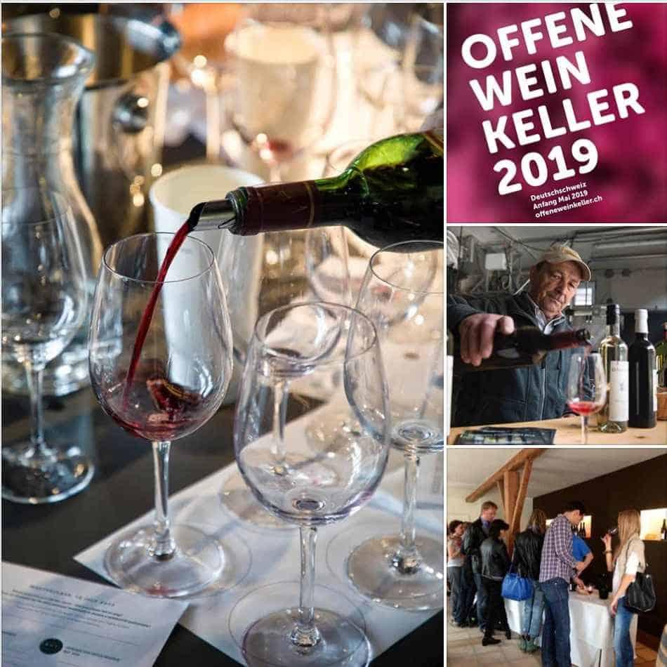 OPEN WINE CELLARS in German speaking Switzerland