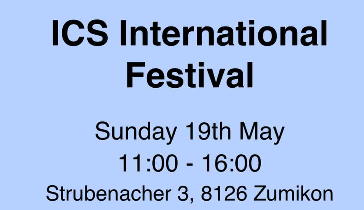 ICS INTERNATIONAL FESTIVAL SUNDAY 19th MAY