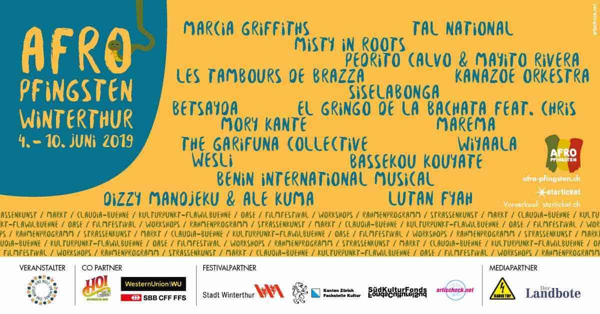 Afro Pfingsten festival Winterthur