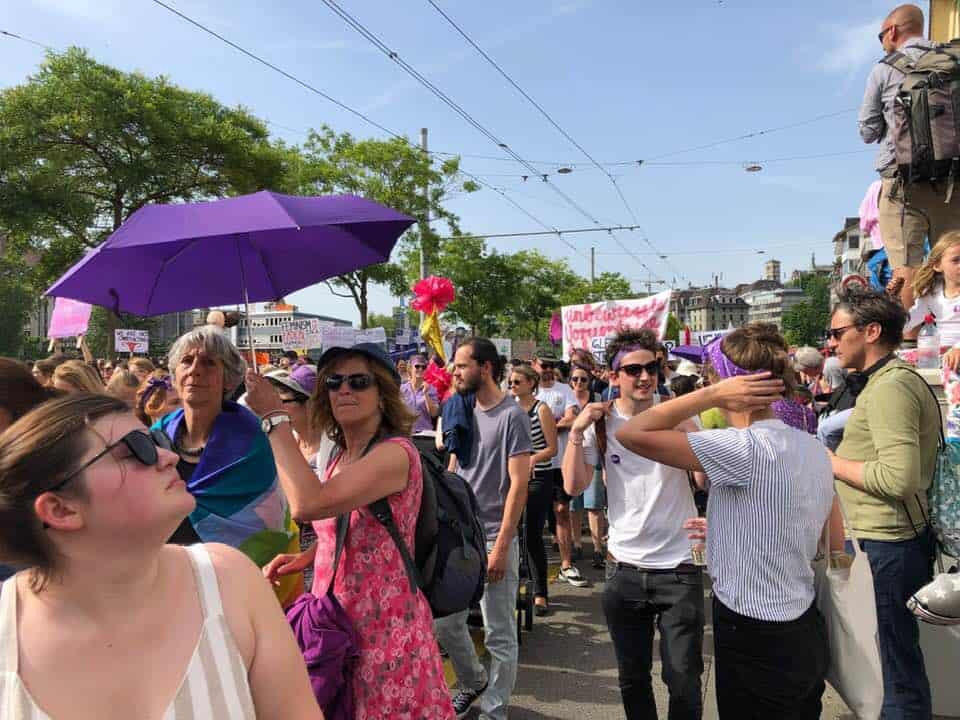Frauenstreik Zurich 2019