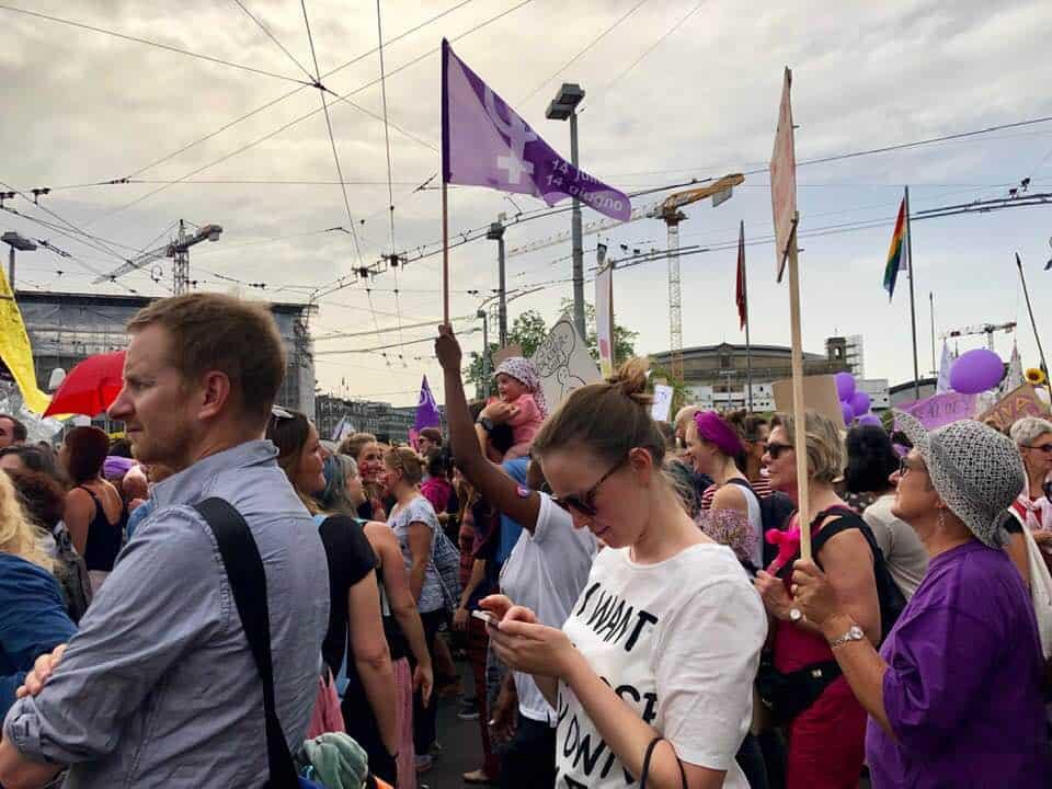 Frauenstreik Zurich 2019 Switzerland