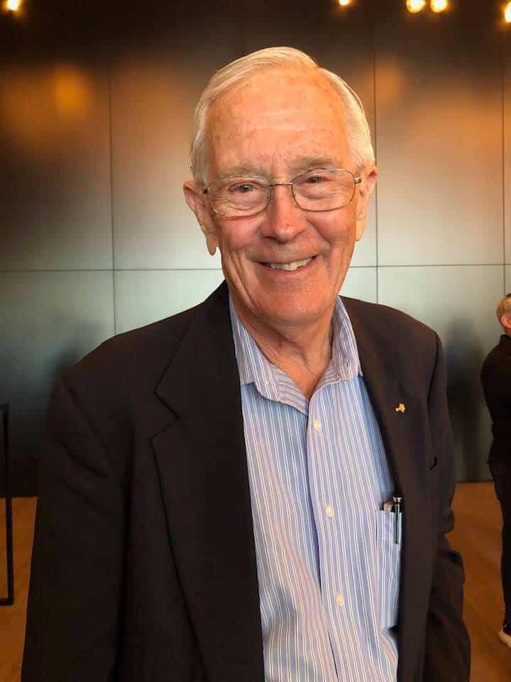 Charlie Duke Astronaut Apollo 16 at Starmus Zurich