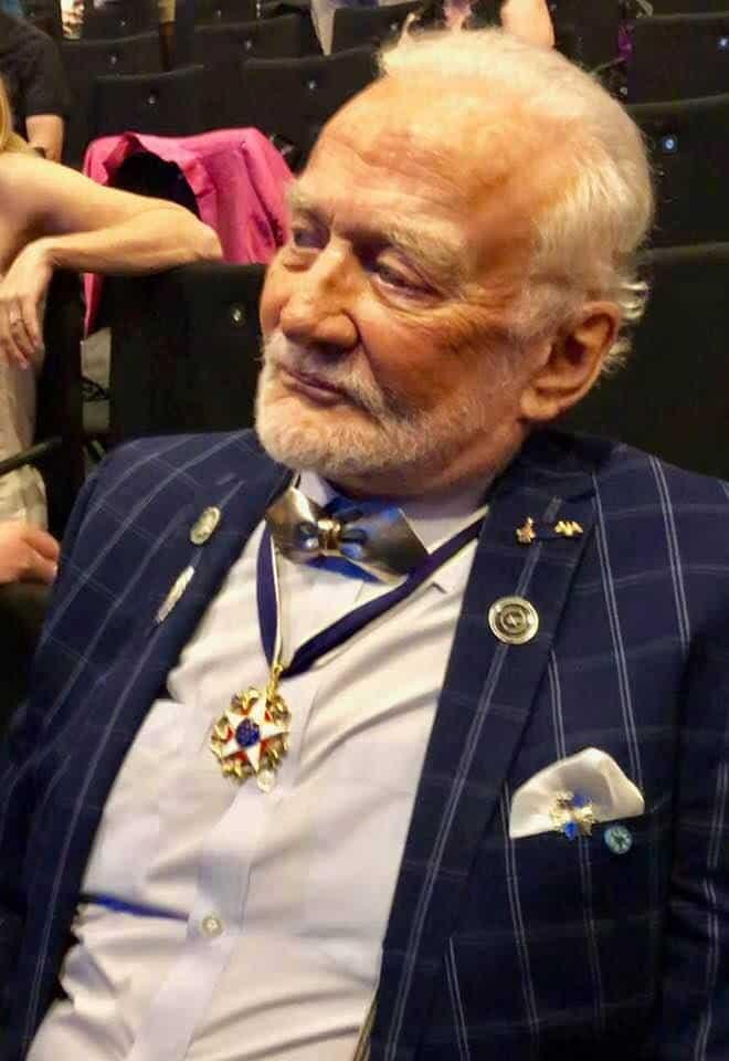 Buzz Aldrin Astronaut at Starmus V Zurich