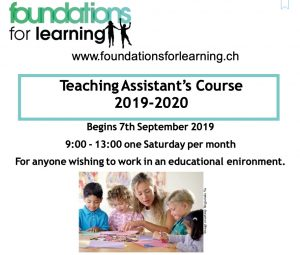 Foundations for Learning Teaching Assistant Course Zurich