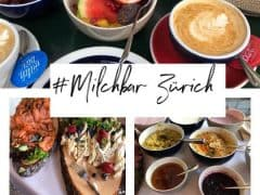Brunch at Milchbar Zurich