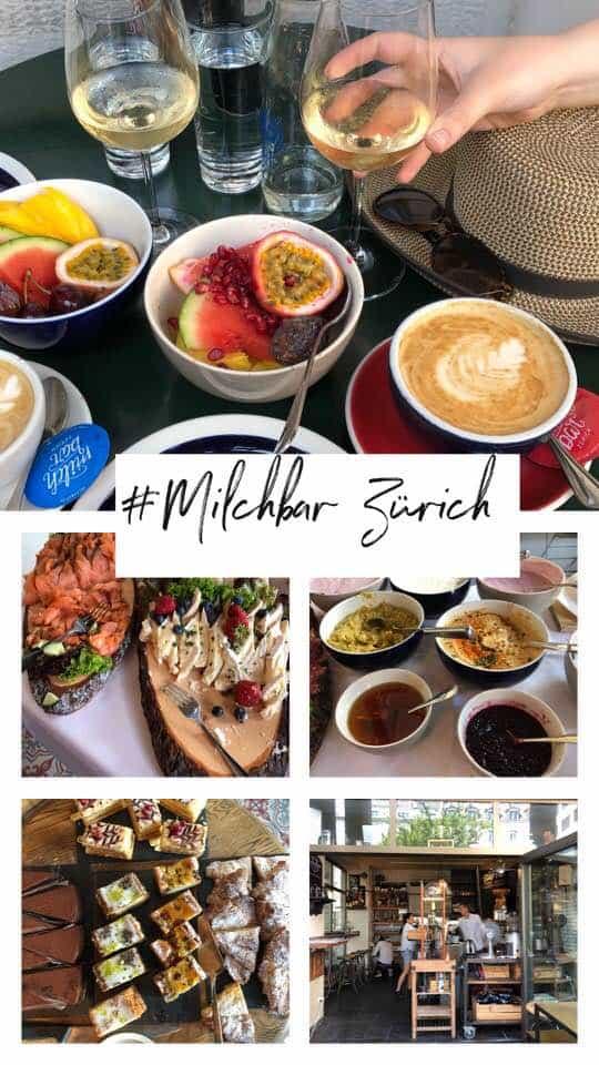 Brunch at Milchbar Zurich