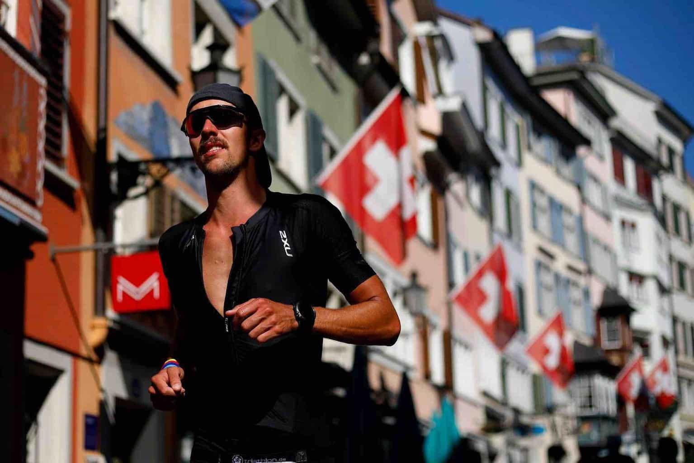 THE IRONMAN ZURICH SWITZERLAND 21st JULY
