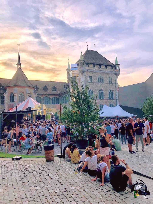Rundfunk fm radio festival Zurich