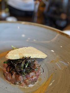 Tuna, Tomato, Coriander Tartar at Herbs Pasta & Bar Zurich