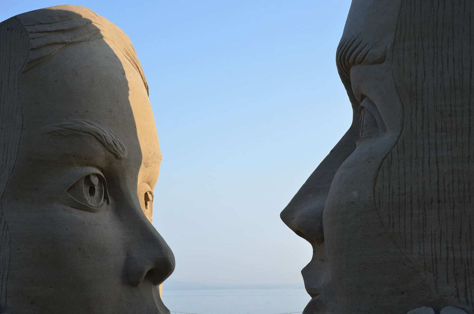International Sand Sculpture Festival Rorschach Lake Constance