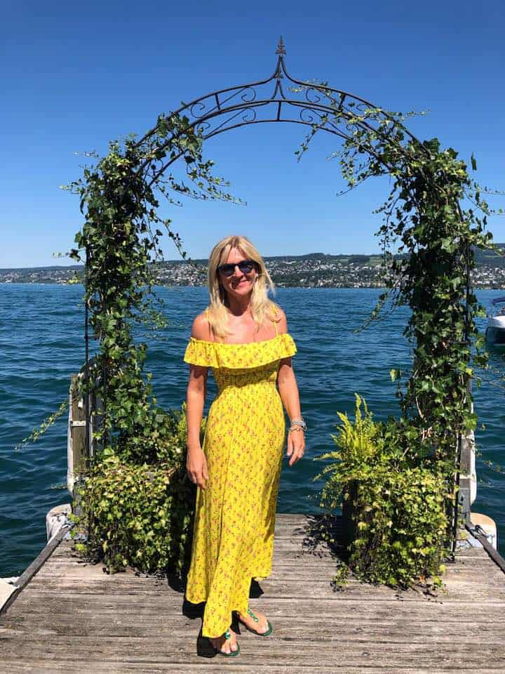 Patricia Boser - Fabulous Brunch on Lake Zurich at Seerestaurant L'O Horgen