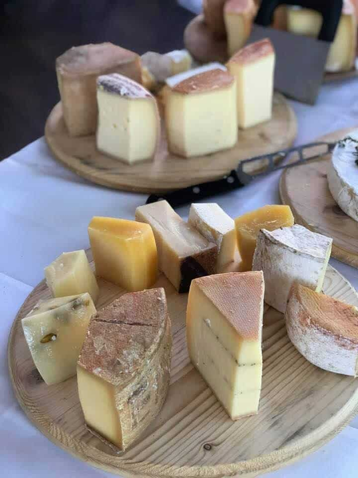 Cheese. Fabulous Brunch on Lake Zurich at Seerestaurant L'O Horgen