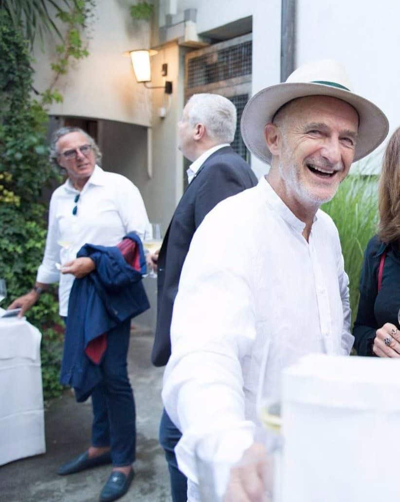 Richard Kägi at Coco Grill & Bar Zurich