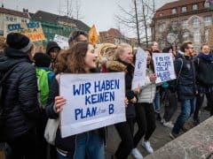 Global Climate Strike Week Zurich Switzerland