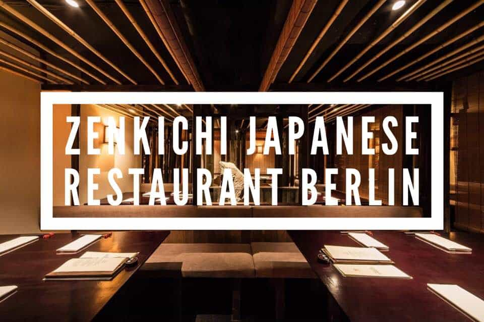 Zenkichi Japanese Restaurant Berlin