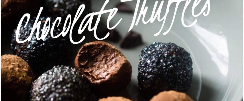 Recipe Swiss Chocolate Truffles
