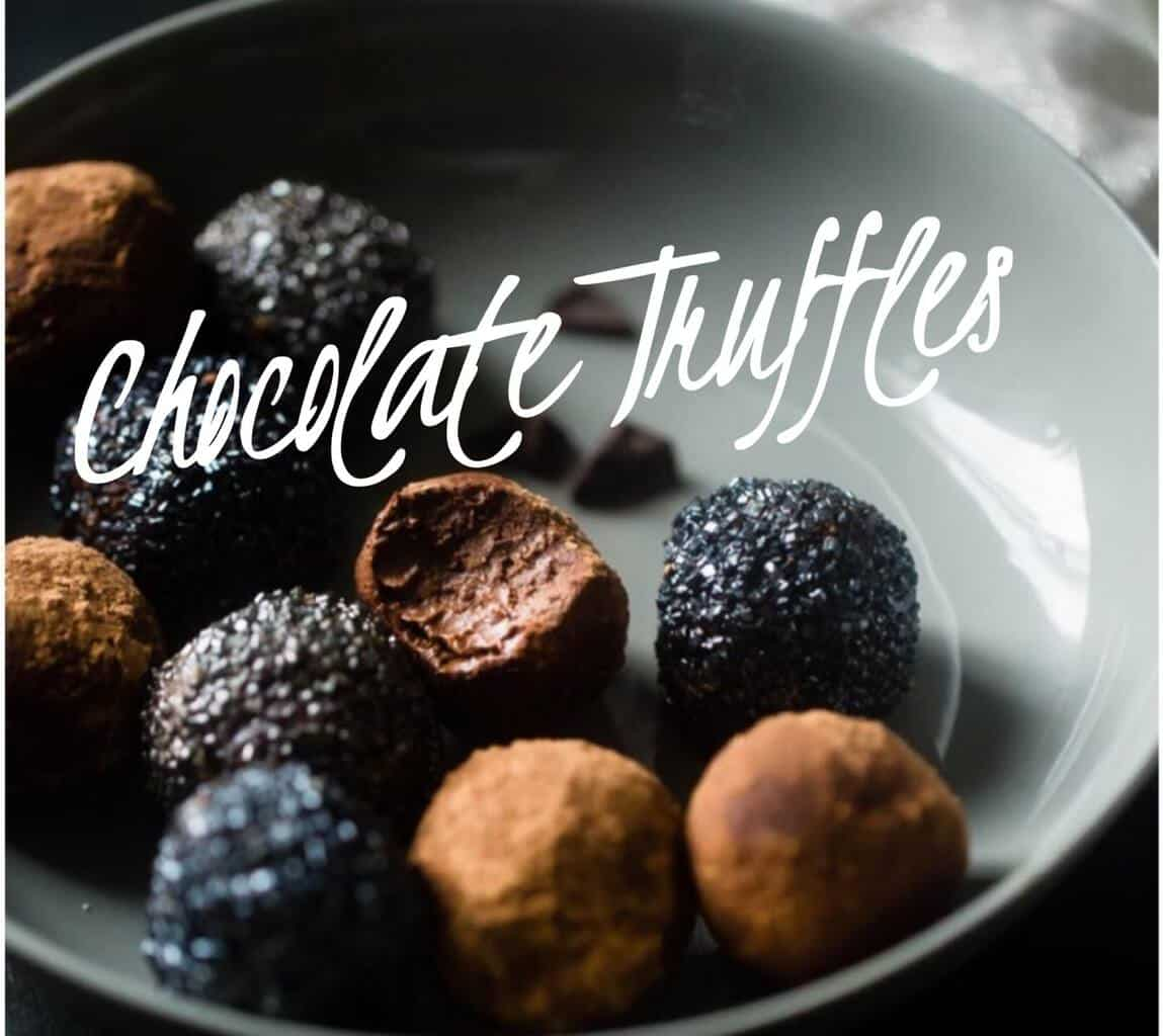 Recipe Swiss Chocolate Truffles