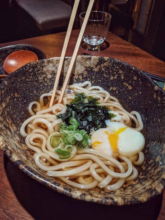 udon noodles Zenkichi Japanese Restaurant Berlin