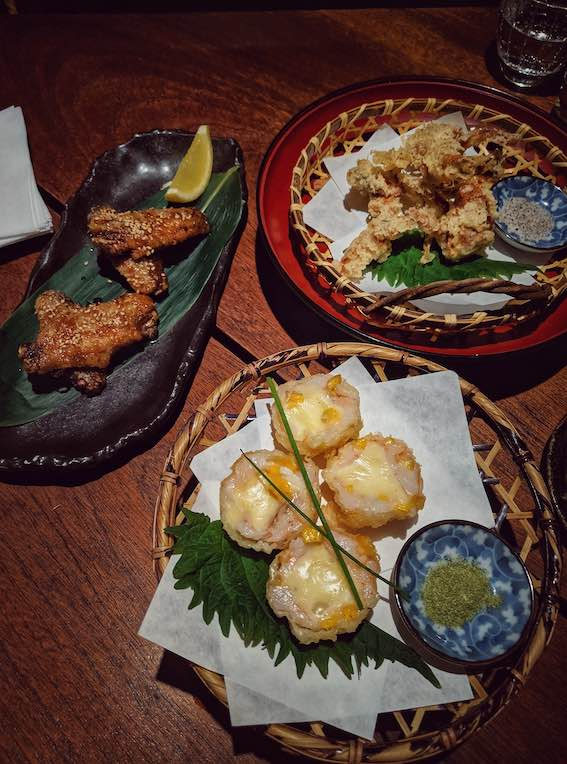 Zenkichi Japanese Restaurant Berlin Tempura
