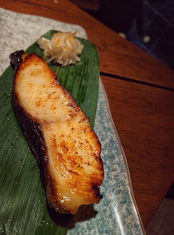 Grilled Saikyo Black Cod Zenkichi Japanese Restaurant Berlin