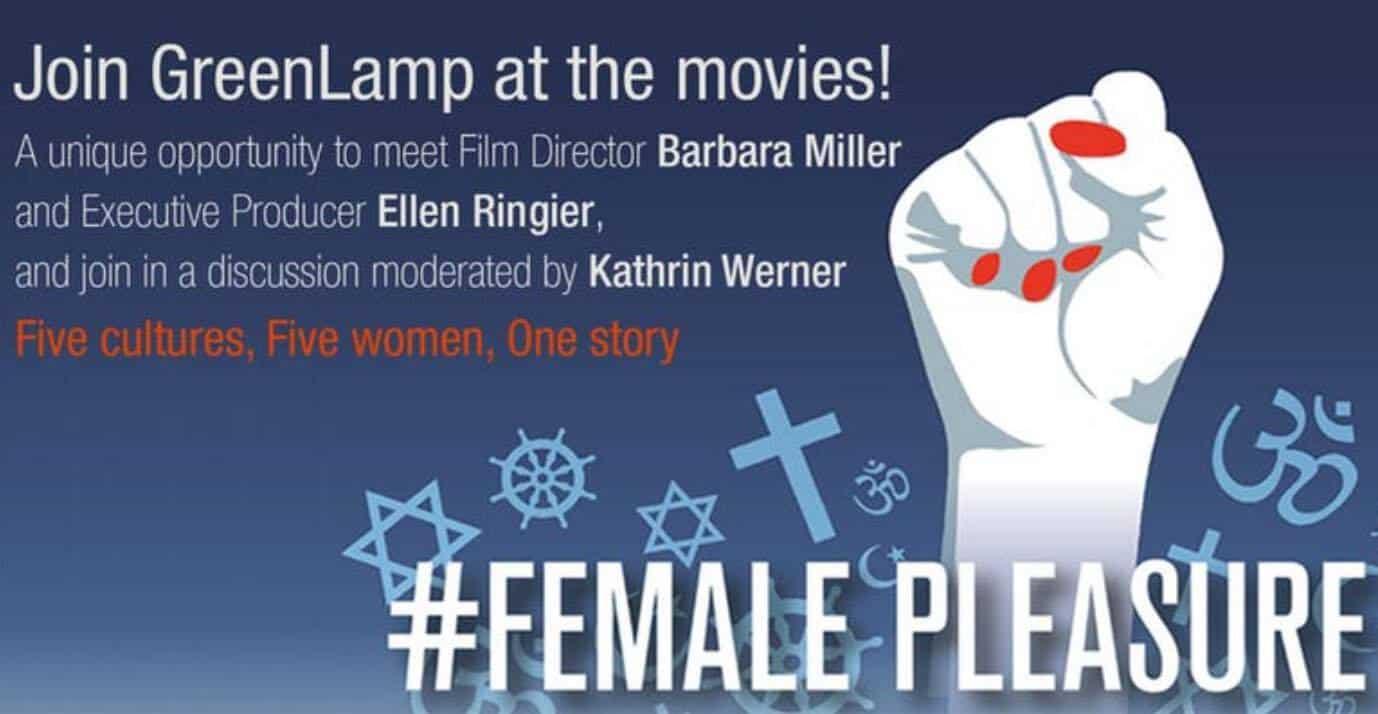 GreenLamp Fundraising movie FemalePleasure Zurich