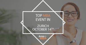 Top MBA Event Zurich