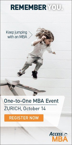 ACCESS MBA DAY ZURICH 14th OCTOBER 2019