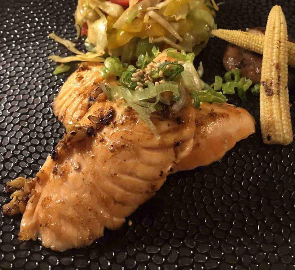 Japanese food at Hinata Japanese Restaurant Le Mirador Vevey