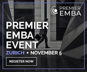 Premier EMBA Event5th November at Steigenberger Bellerive au Lac