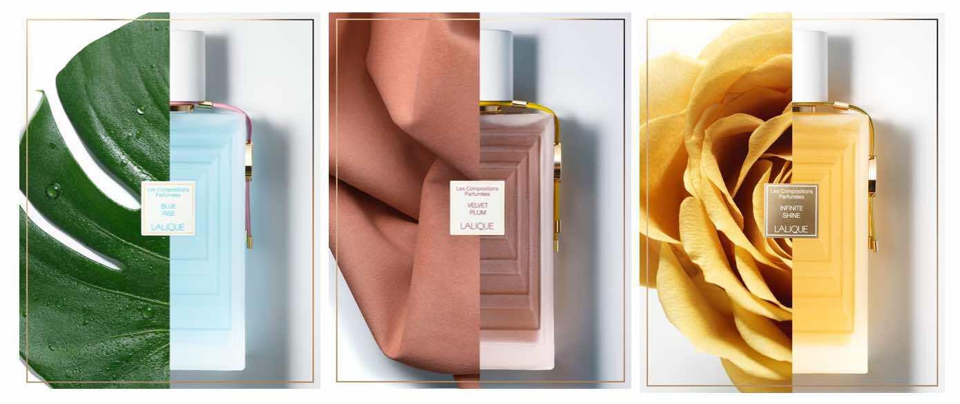 """Lalique Perfume """"Les Compositions Parfumées Hommage"""""""