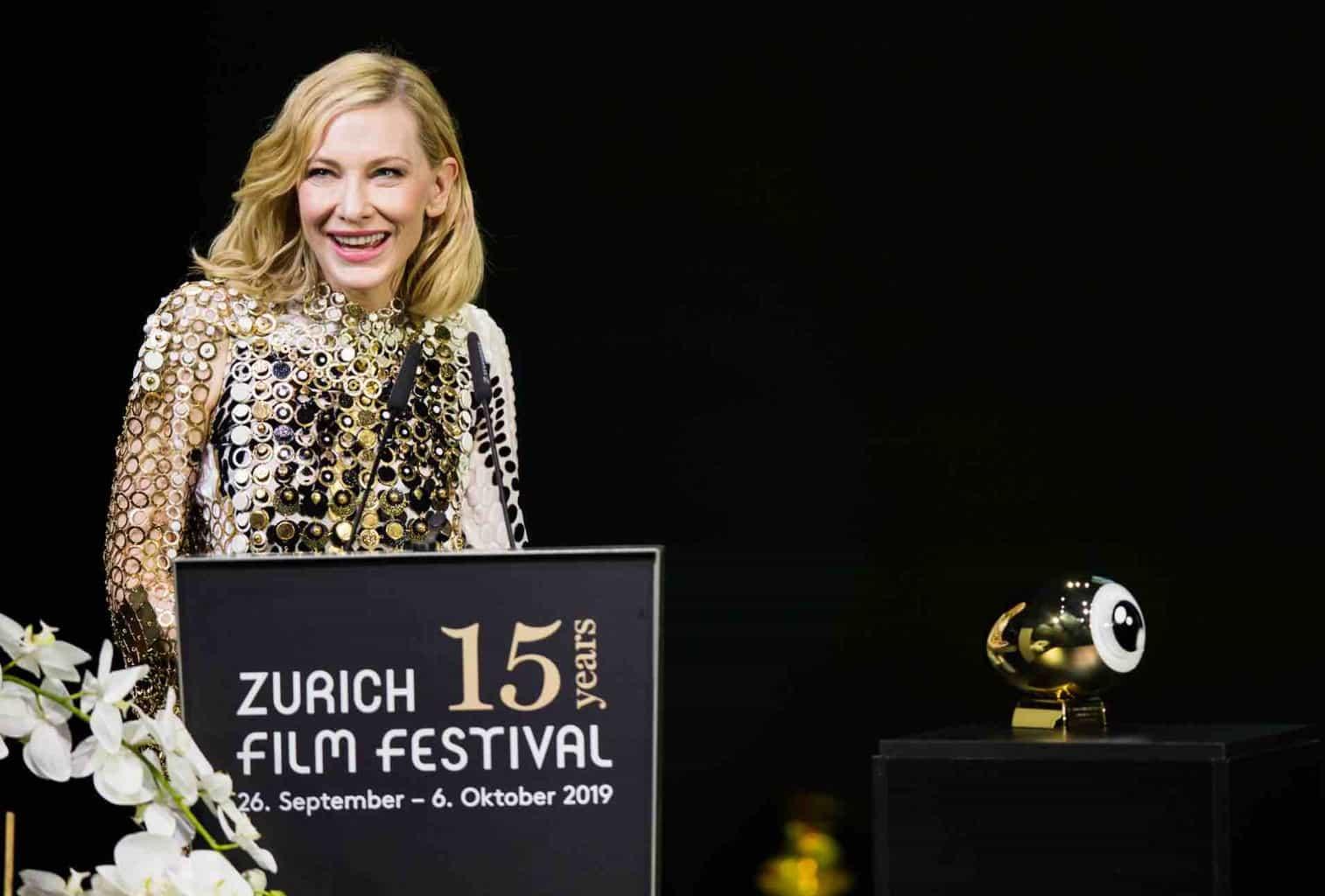 Cate Blanch at Zurich Film Festival ZFF Awards 2019