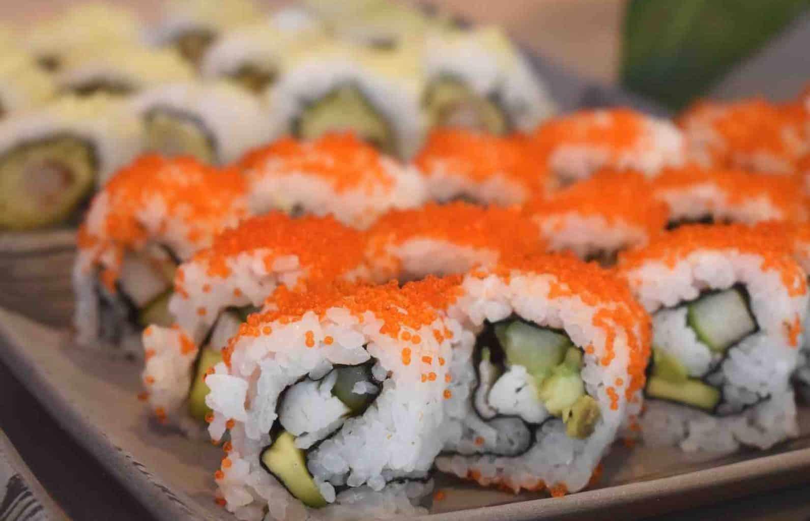 Sushi at Hinata Japanese Restaurant at Le Mirador Resort & Spa Vevey