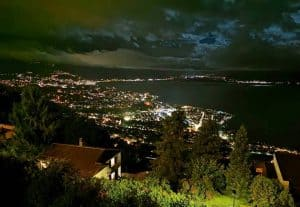 View from Le Mirador Resort & Spa vevey