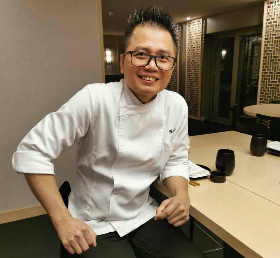 Chef Hndoko Hinata Japanese Restaurant Le Mirador Vevey