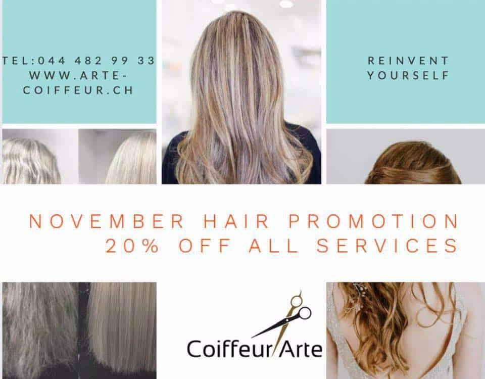 Coiffeur Arte Hairdresser Zurich
