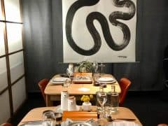 OISHII Japanese Style Winter Pop-Up Widder Hotel Zurich