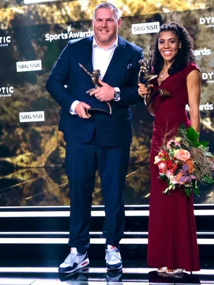 Swiss Sports Awards Mujinga Kambundji & Christian Stucki