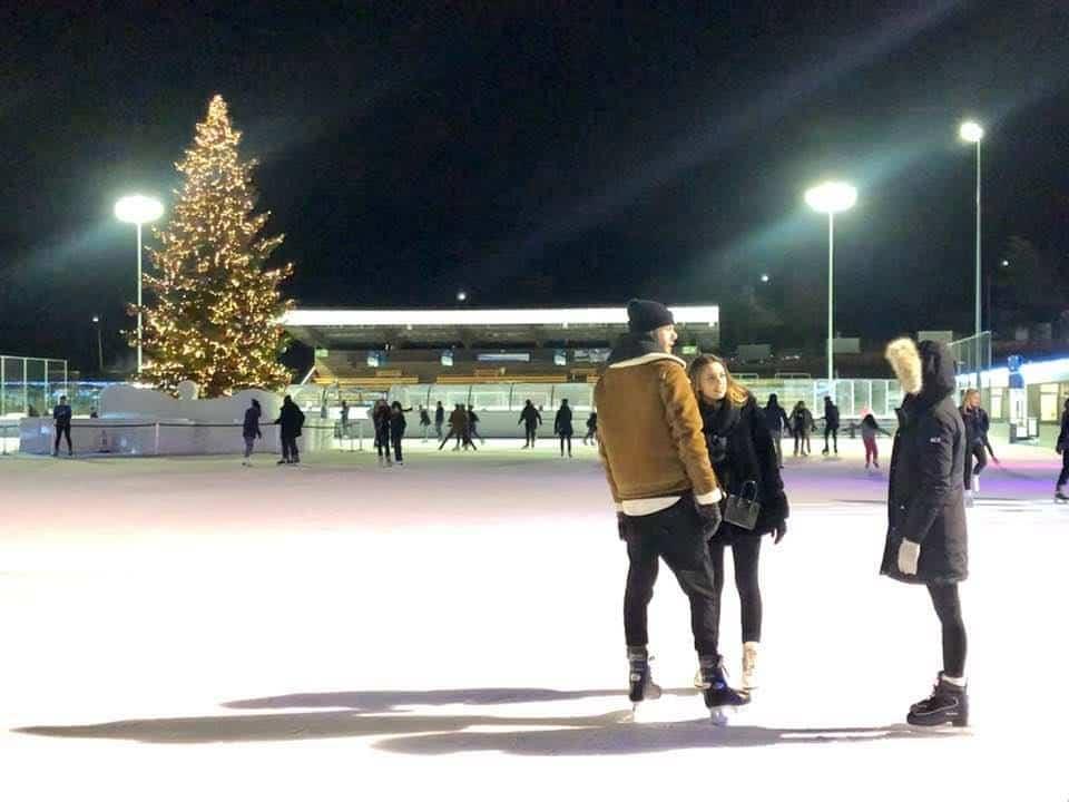 ice skating at dolder ice rink zurich