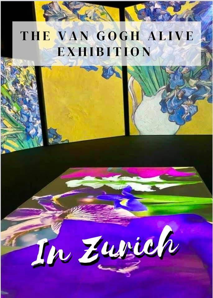 Van Gogh Alive exhibition Zurich
