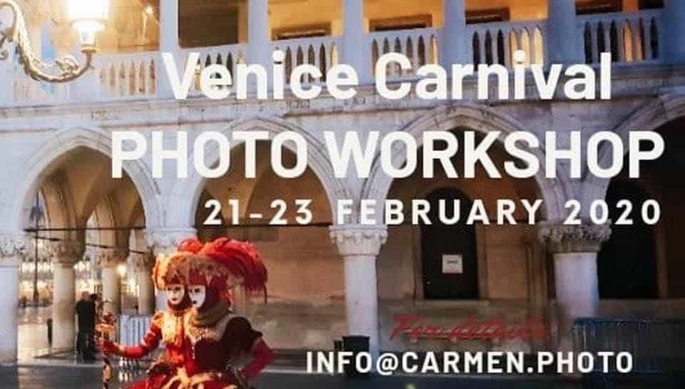 Venice Carnival Photo Workshops